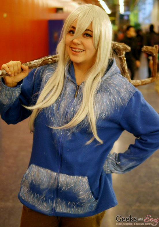 Jack Frost - Montreal Mini Comiccon 2016 - Photo by Geeks are Sexy