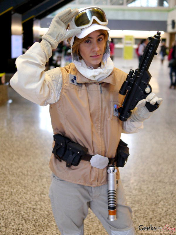 Luke Skywalker - Montreal Mini Comiccon 2016 - Photo by Geeks are Sexy