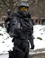 Heavy Master Chief - Montreal Mini Comiccon 2016 - Photo by Geeks are Sexy