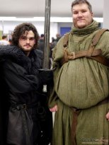Jon Snow and Hodor - Montreal Mini Comiccon 2016 - Photo by Geeks are Sexy