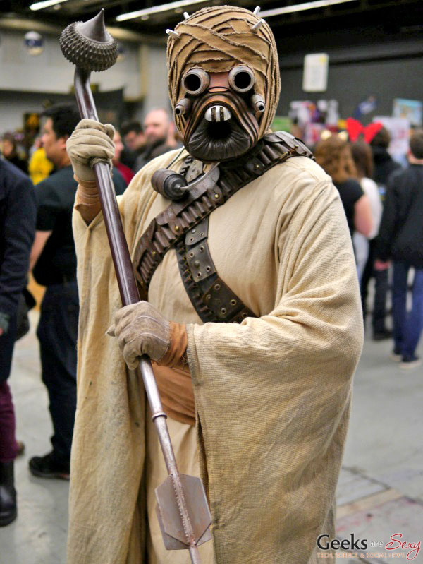Tusken Raider - Montreal Mini Comiccon 2016 - Photo by Geeks are Sexy