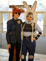 Zootopia Cosplayers - Montreal Mini Comiccon 2016 - Photo by Geeks are Sexy