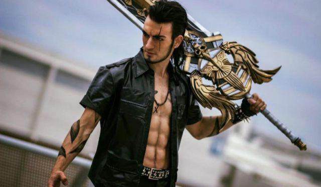 Cosplay Final Fantasi this gladiolus cosplay (final fantasy xv) is nothing short of