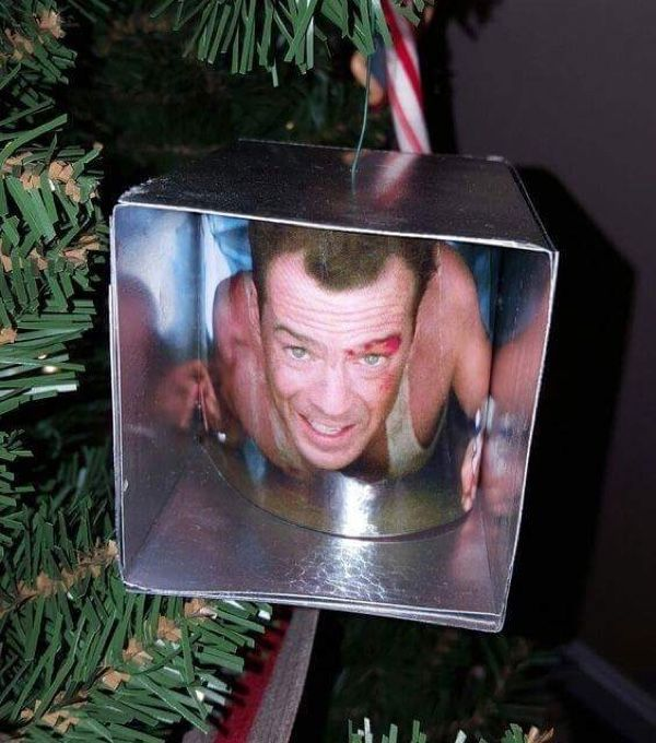 a die hard christmas tree ornament pic