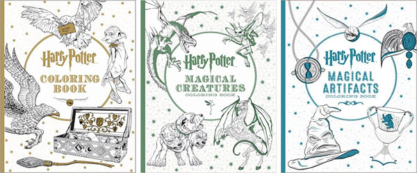 Harry Potter Magical Artifacts Coloring Book 1599 892 Artlicious 50 Premium Distinct Colored Pencils For Adult Books