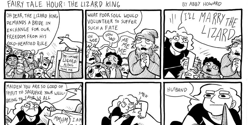 The Lizard King Comic