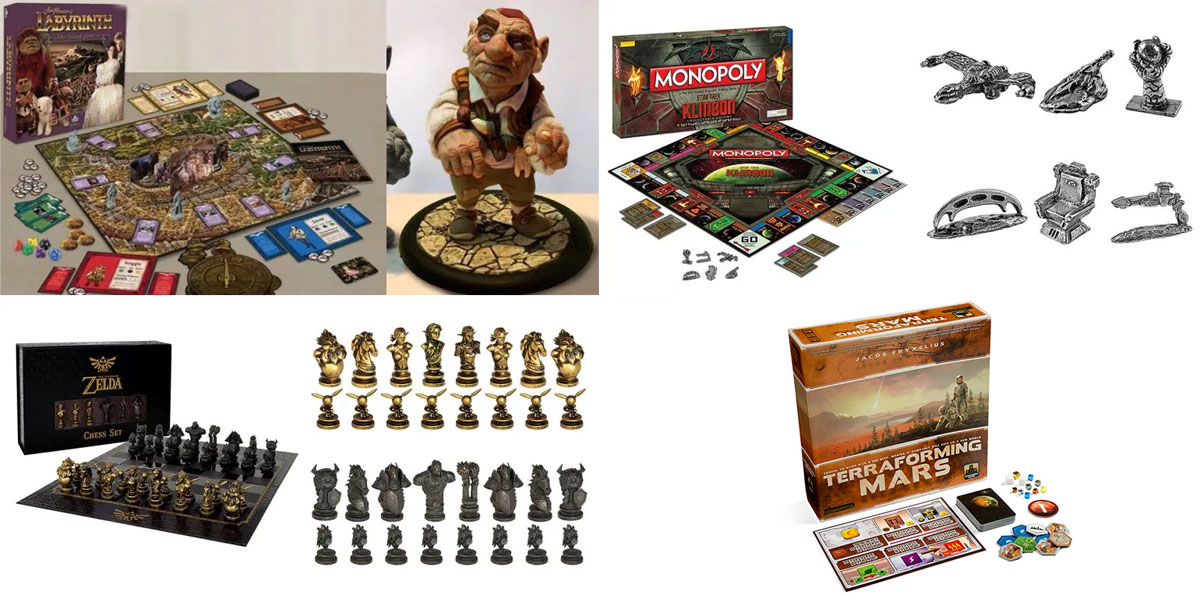 HAPPY TABLETOP DAY: 20 Off All Games Including Jim Hensons Labyrinth Board Game