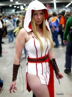 Rule 63 Ezio (Assassin's Creed) - Ottawa Comiccon 2017 - Photo by Geeks are Sexy