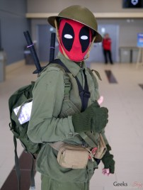 Deadpool - Ottawa Comiccon 2017 - Photo by Geeks are Sexy