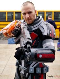 Shepard (Mass Effect) - Ottawa Comiccon 2017 - Photo by Geeks are Sexy