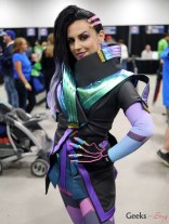 Sombra from Overwatch (Fantasy Ninja) - Ottawa Comiccon 2017 - Photo by Geeks are Sexy