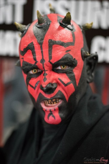 Darth Maul - Ottawa Comiccon 2017 - Photo by Geeks are Sexy