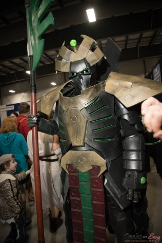 Warhammer 40k Cosplayer - Ottawa Comiccon 2017 - Photo by Geeks are Sexy