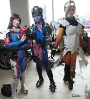 Overwatch Cosplayers - Ottawa Comiccon 2017 - Photo by Geeks are Sexy