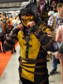 Scorpion- Montreal Comiccon 2017 - Photo by Geeks are Sexy
