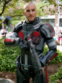 Commander Shepard- Montreal Comiccon 2017 - Photo by Geeks are Sexy