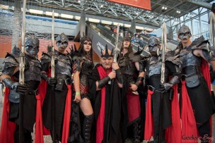 Vampire Lords - Montreal Comiccon 2017 - Photo by Geeks are Sexy