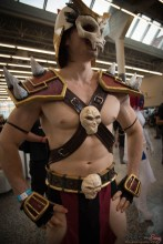 Shao Khan, Mortal Kombat - Montreal Comiccon 2017 - Photo by Geeks are Sexy