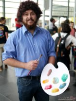 Bob Ross – Quebec City Comic Con 2017 – Photo by Geeks are Sexy