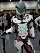 Genji from Overwatch – Quebec City Comic Con 2017 – Photo by Geeks are Sexy