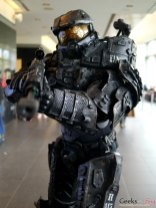 Master Chief – Quebec City Comic Con 2017 – Photo by Geeks are Sexy