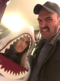 Andrew and Friend (Jaws)
