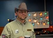 Beano as Officer Hopper from Stranger Things