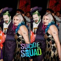 Einar and S.O. as Harley Quinn and The Joker