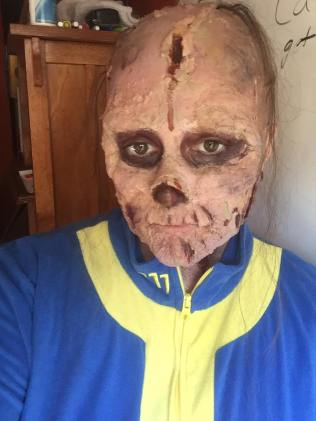 Holly as a Ghoul from Fallout 4