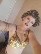 Kendra as Medusa