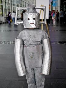 Leo as a Cyberman