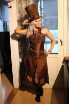 Ronja as a Steampunk Madhatter