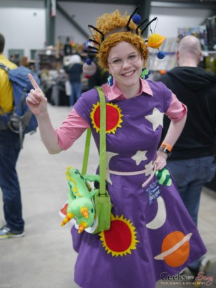 Miss Frizzle - Ottawa Comiccon 2018 - Photo by Geeks are Sexy