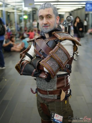 Geralt - Montreal Comiccon 2018 - Photo by Geeks are Sexy