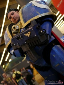Space Marine - Montreal Comiccon 2018 - Photo by Geeks are Sexy