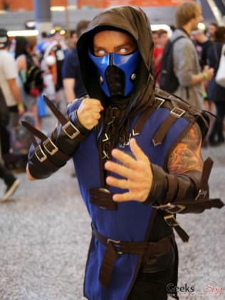 Sub Zero - Montreal Comiccon 2018 - Photo by Geeks are Sexy