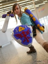 Crochet Link - Montreal Mini-Comiccon 2018 - Photo by Geeks are Sexy