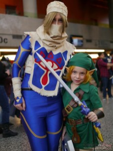 Link - Montreal Mini-Comiccon 2018 - Photo by Geeks are Sexy