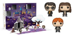 This Funko POP! Harry Potter Advent Calendar Features 24 Harry Potter POP! figures!