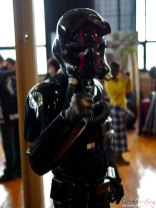 First Order Tie Fighter Pilot - Shawicon 2019