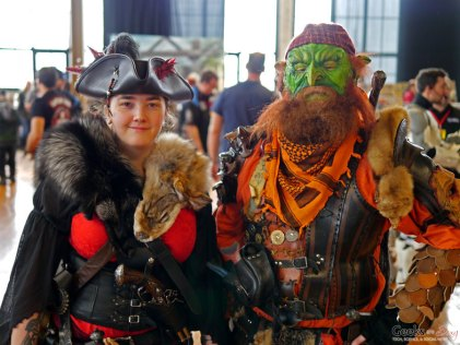 Pirate and Orc - Shawicon 2019