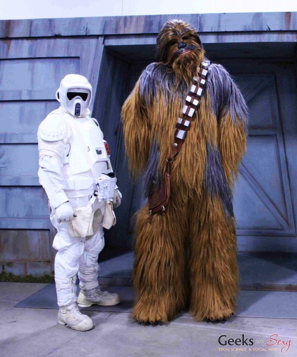 Wookiee and Scout Trooper