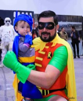 Batman and Robin - Ottawa Comiccon 2019 - Photo by Geeks are Sexy