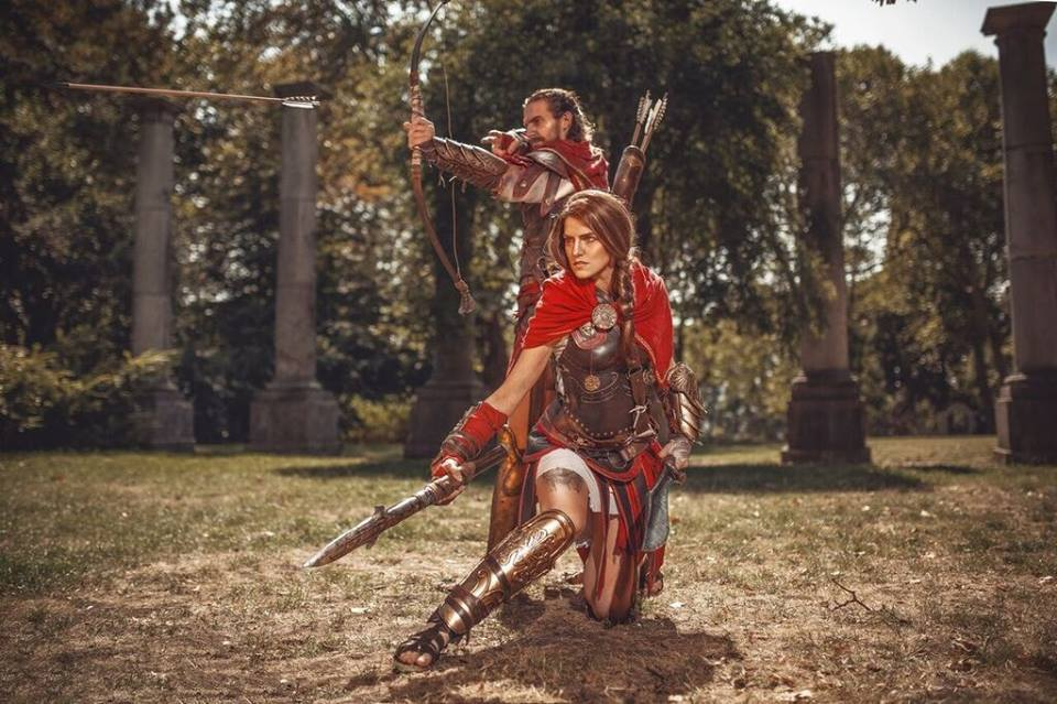 Kassandra And Alexios From Assassin S Creed Odyssey A Cosplay Duo