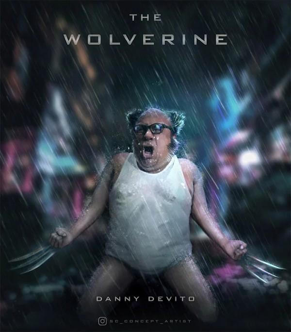 Danny DeVito as Wolverine