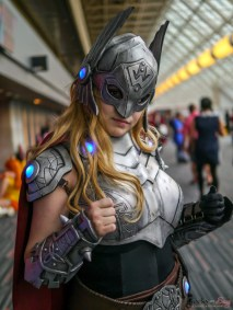 Female Thor - Photo by Geeks are Sexy at Montreal Comiccon 2019