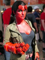 Hellgirl - Photo by Geeks are Sexy at Montreal Comiccon 2019