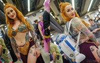 Slave Leia - Photo by Geeks are Sexy at Montreal Comiccon 2019