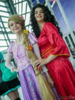 Rapunzel and Elena D'Avalor - Quebec Comiccon 2019 - Photo by Geeks are Sexy