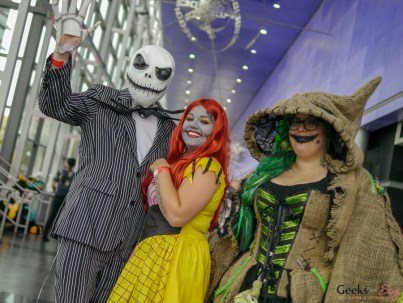 A Nightmare Before Christmas - Quebec Comiccon 2019 - Photo by Geeks are Sexy